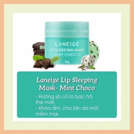 LANEIGE Sleeping Mask Lip 8G - Mint Choco